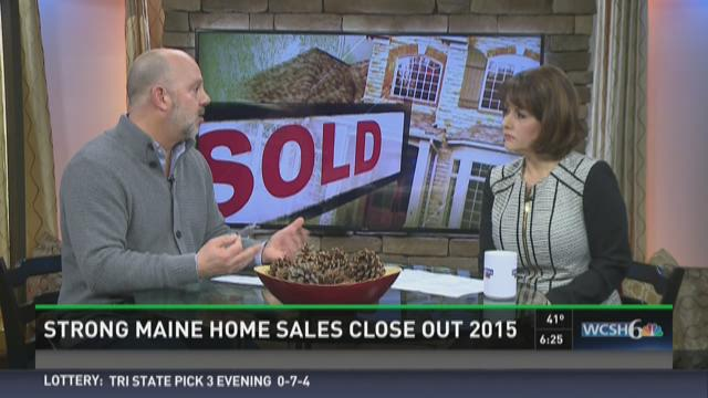 Strong Maine home sales close out 2015