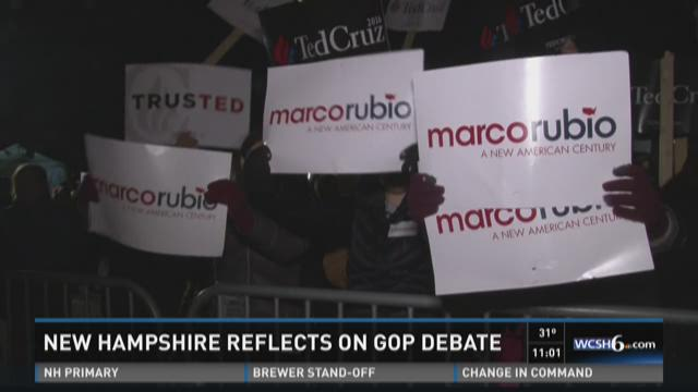 GOP supporters and protesters speak to NEWS CENTER about why they showed up outside