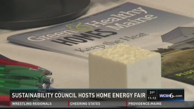 Learning about sustainable energy in Maine homes