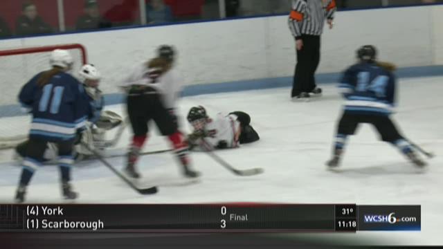 girls hockey semifinals