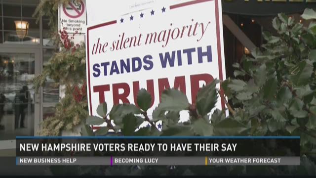 February 8, 5:30pm New Hampshire primary coverage