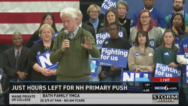 February 8, 6:00pm New Hampshire primary coverage