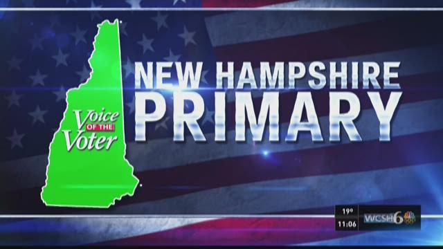 New Hampshire primary update