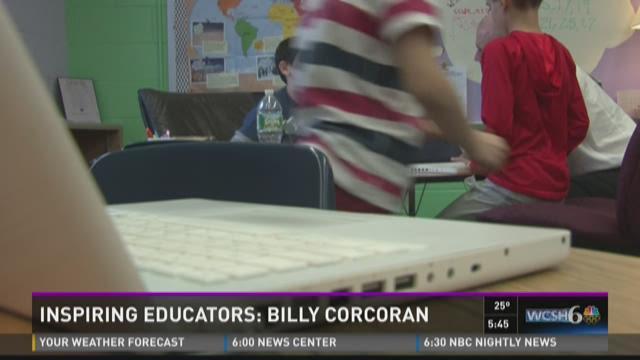 NEWS CENTER's first inspiring educator