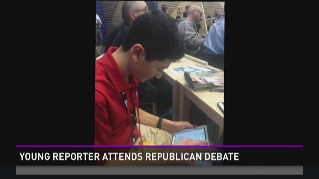 Teenage reporter attends GOP Debate in NH