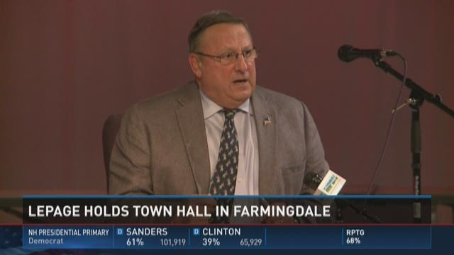 Lepage in Farmingdale for town hall