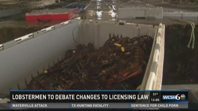 Lobsterman to debate changes to licensing law