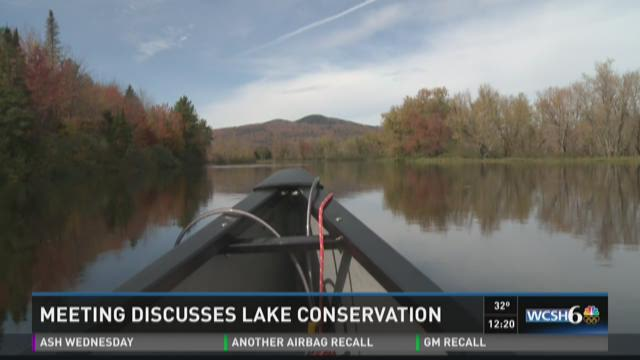 Mainers trying to learn how to better conserve state's lakes