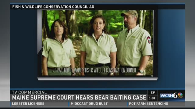 Bear baiting campaign lawsuit