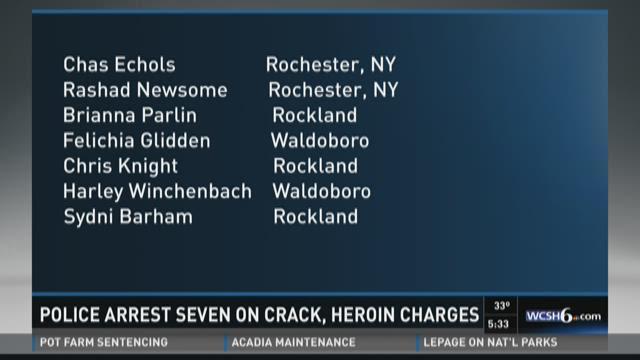 Midcoast drug bust