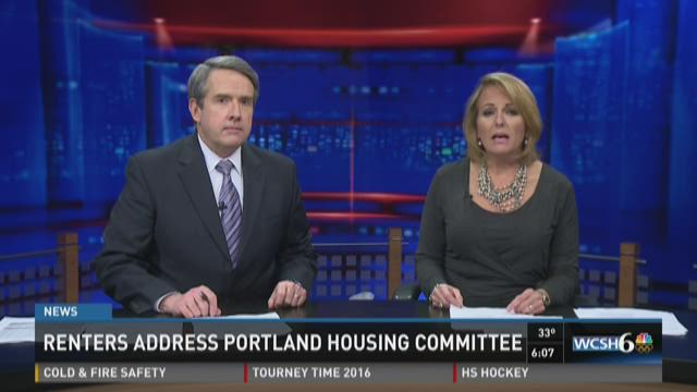 Portland housing committee addressed by renters