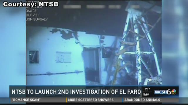 NTSB will continue to search for data recorder from El Faro sinking