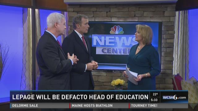 NEWS CENTER analysts respond to LePage as Ed. Commissioner