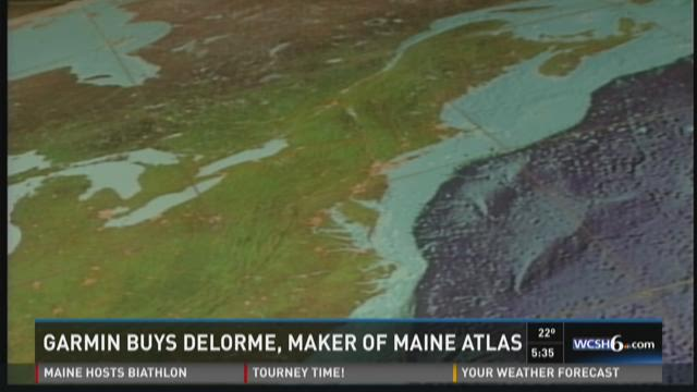 Swiss company purchasing Maine mapping company, Delorme