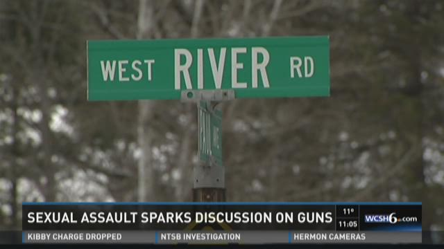 Gun debate reheated after woman was assaulted in Waterville