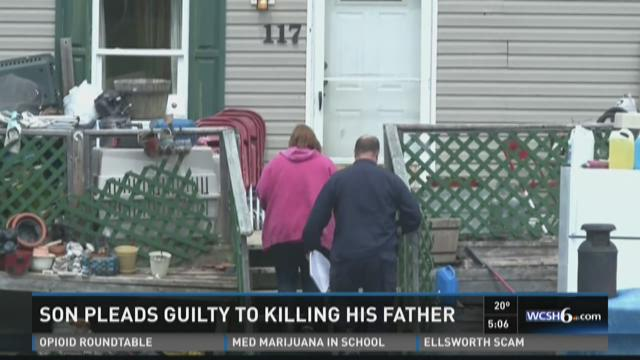 Son who allegedly shot and killed father in Parkman pleads guilty