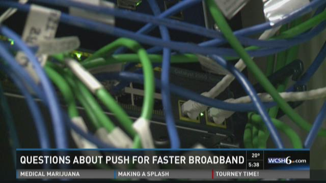 Questions about how broad high-speed broadband internet needs to be