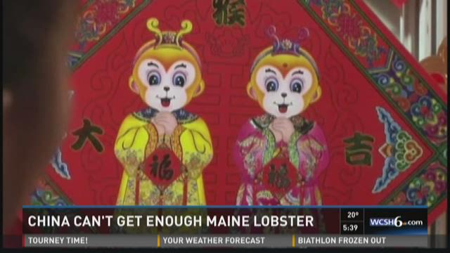 Chinese New Year celebration reignites exports of Maine lobster