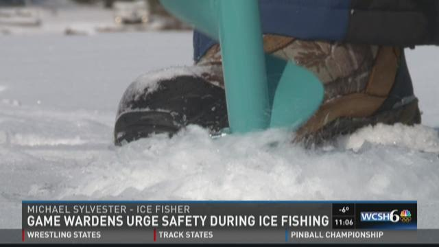 Game Wardens advise ice fishers to be careful this weekend