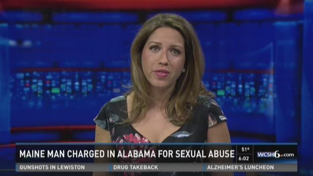 Maine man charged in Ala. for sexual abuse