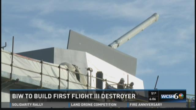 Bath Iron Works receives brand new US Navy Destroyer contract