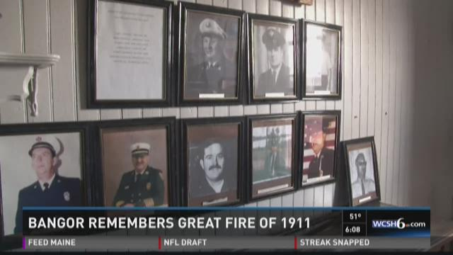 Remembering Bangor's Great Fire of 1911 at local museum