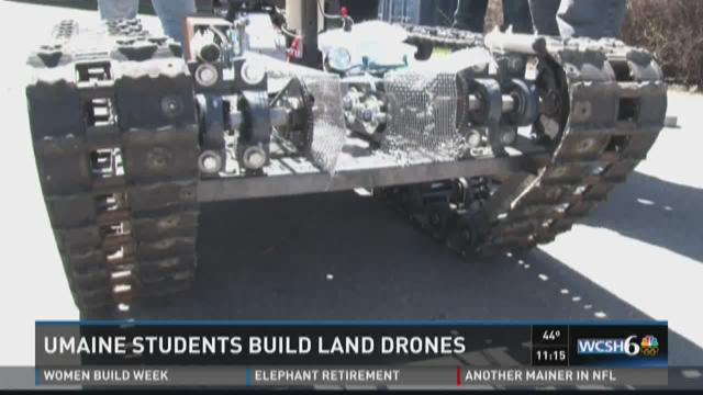 UMaine engineers design and create complex drones