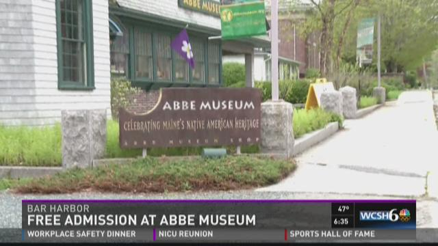 Free admission at Abbe Museum