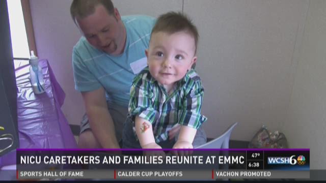 NICU caretakers and families reunite at EMMC