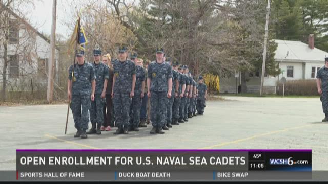 Open enrollment for U.S. Naval Sea Cadet Corps