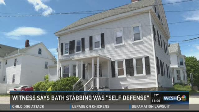 self defense claimed in bath maine stabbing