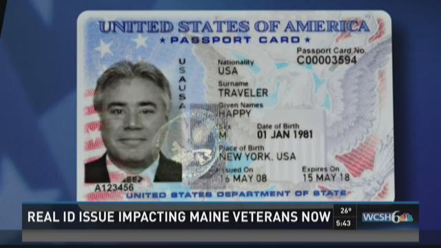 Looks Newscentermaine With Problem Veterans Id Bill Bipartisan Real com To Help