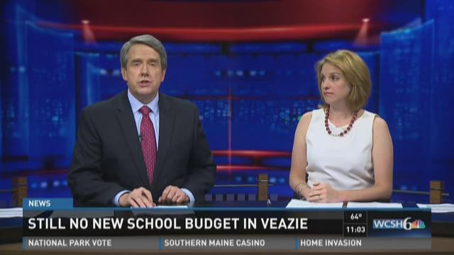 Veazie still working on school budget