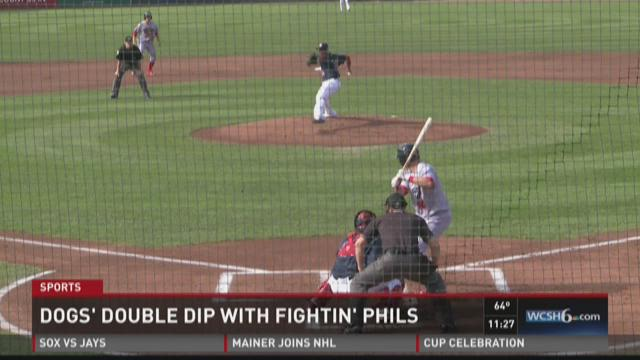 Sea Dogs split double dip with Phils