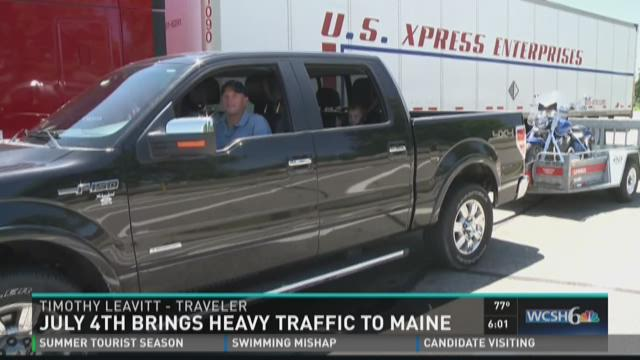 Drivers hit the road for 4th of July weekend