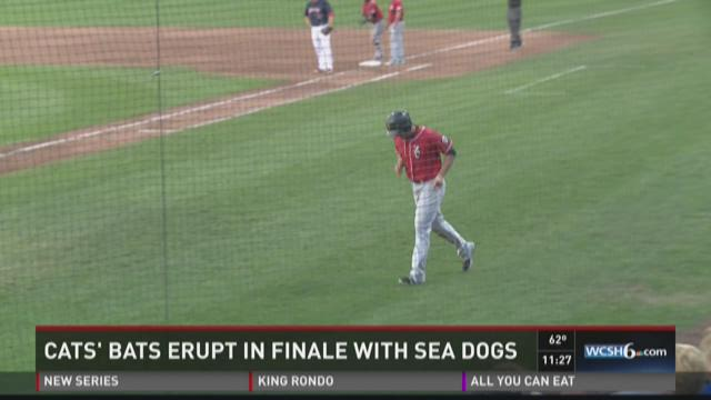 The Sea Dogs hit four home runs in a game 2 win.