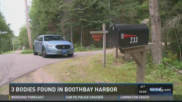 3 people found dead in Boothbay Harbor