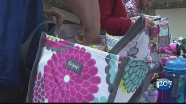 Kenna Care Bags going to 142 kids battling cancer
