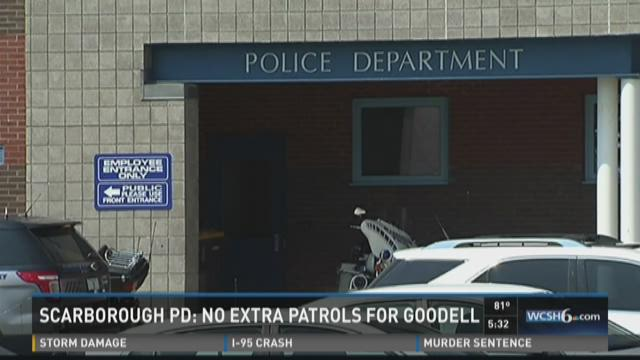Scarborough PD: No extra patrols for Goodell