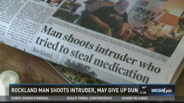 Rockland man shoots intruder