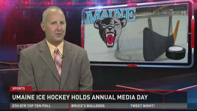 U-Maine men's hockey media day