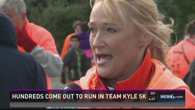 Hundreds come out to run in Team Kyle 5K