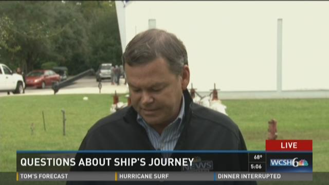 Questions about the ships journey