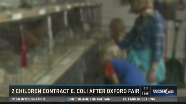 Two Children Contract E.Coli after Oxford Fair