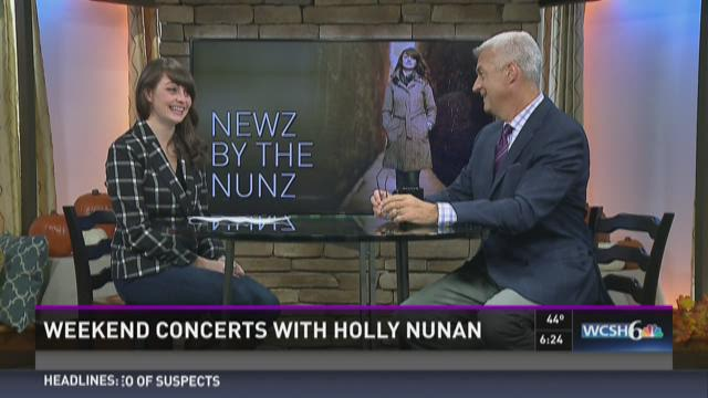 Weekend concerts with Holly Nunan