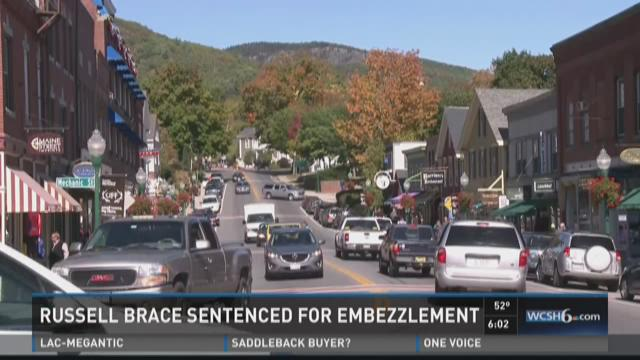 Russell Brace sentenced for embezzlement