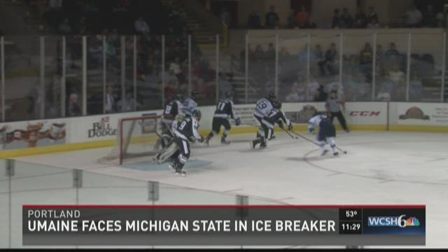 Maine Hockey vs. Michigan State