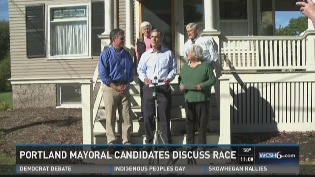 Portland Mayoral Candidates Discuss Race