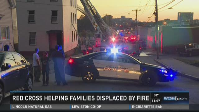 Red Cross Helping Families Displaced by Fire