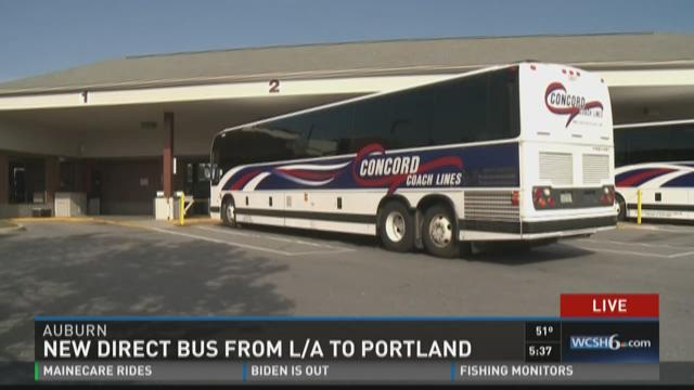 New Bus Service Out Of Lewiston Auburn